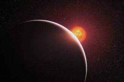 Strange planet.