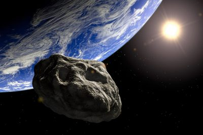 An asteroid that could fall.