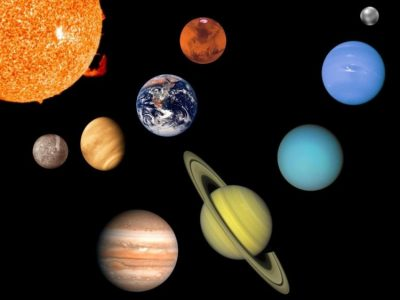 Planets in our galaxy.